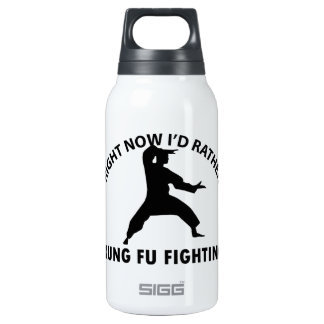 cool Kung fu  designs Thermos Water Bottle