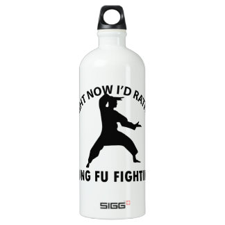 cool Kung fu  designs Water Bottle