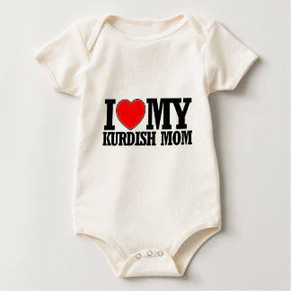 cool Kurdish  mom designs Baby Bodysuit