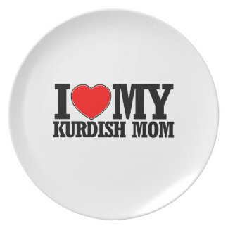 cool Kurdish  mom designs Plate