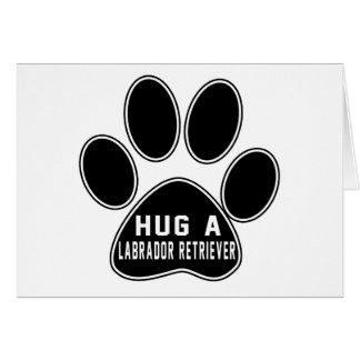 Cool Labrador Retriever Designs Card
