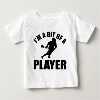Cool Lacrosse design Baby T-Shirt