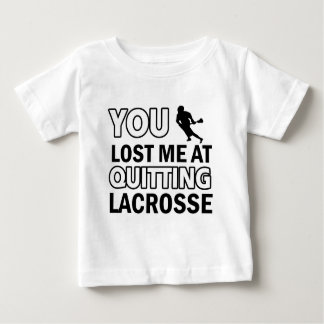 Cool lacrosse designs baby T-Shirt