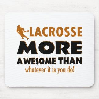 Cool Lacrosse designs Mouse Pad