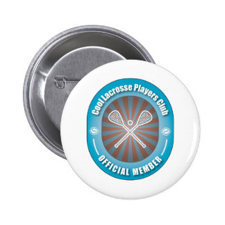 Cool Lacrosse Players Club Pinback Buttons