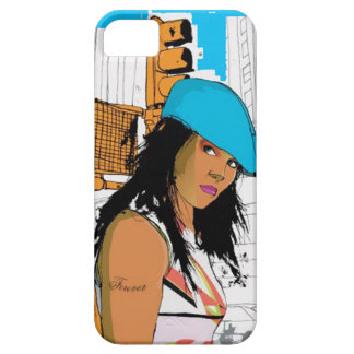 Cool Lady iPhone 5 Case