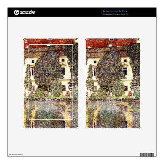 Cool landscape - Gustav Klimt Kindle Fire Decals