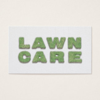 Cool Landscaping Lawn Care Mower Business Card