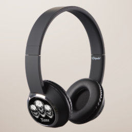 Cool Laughing Skulls Headphones