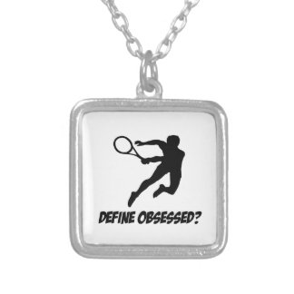 Cool lawn tennis Lovers Designs Personalized Necklace