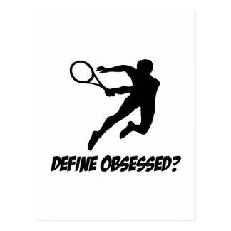 Cool lawn tennis Lovers Designs Postcard