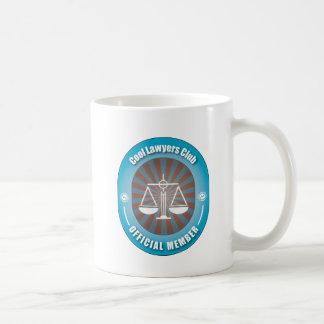 Cool Lawyers Club Classic White Coffee Mug