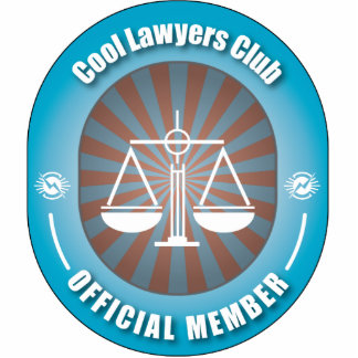 Cool Lawyers Club Photo Sculpture Ornament