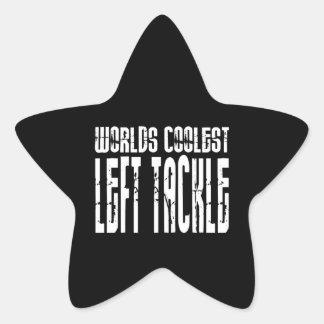 Cool Left Tackles : Worlds Coolest Left Tackle Star Sticker