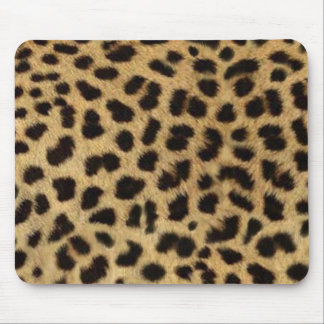 Cool Leopard print mousepad