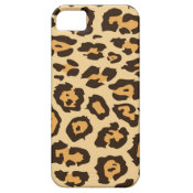 Cool Leopard Print Pattern Gifts for Her iPhone 5 Case