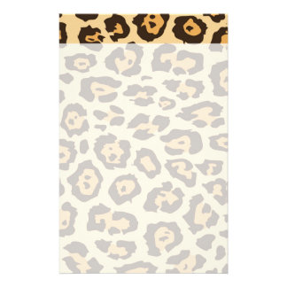 Cool Leopard Print Pattern Gifts for Her Stationery