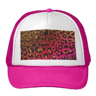 Cool Leopard print skin bright rough background Trucker Hat