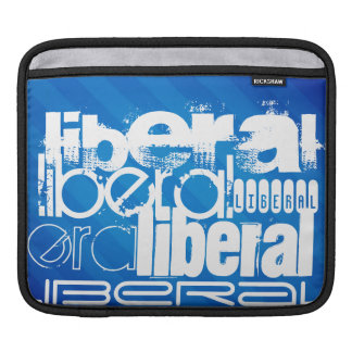 Cool Liberal; Royal Blue Stripes Sleeves For iPads