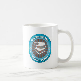 Cool Librarians Club Classic White Coffee Mug