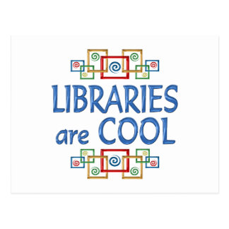 Cool Libraries Post Card