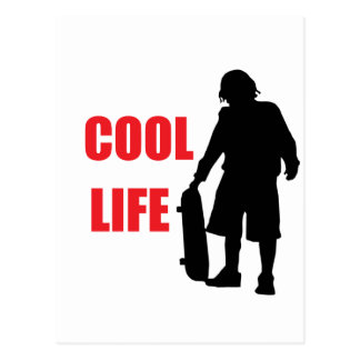 cool life postcard