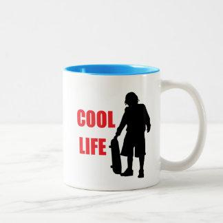 cool life Two-Tone coffee mug