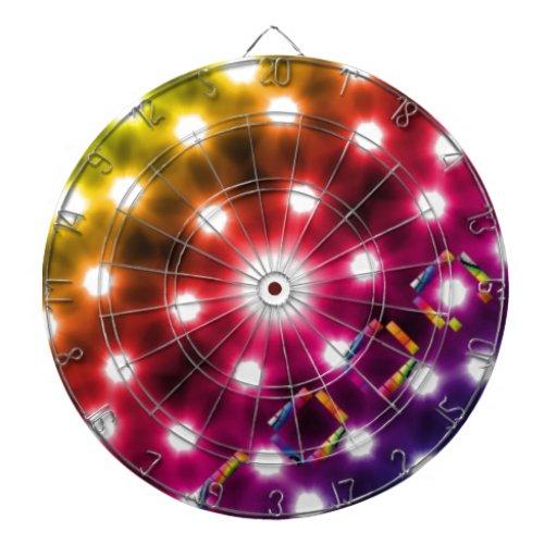 Cool Lights Dart Board