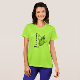 Cool Lime Green Pickleball T-Shirt