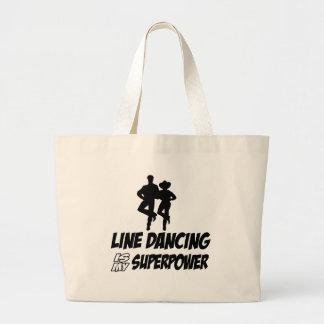 Cool LINE DANCE designs Canvas Bags