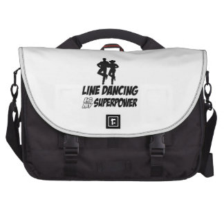 Cool LINE DANCE designs Bags For Laptop