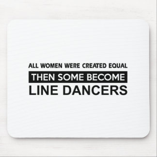 Cool Line Dancing designs Mouse Pad
