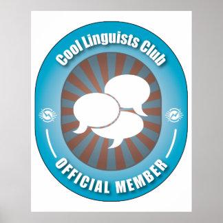 Cool Linguists Club Print