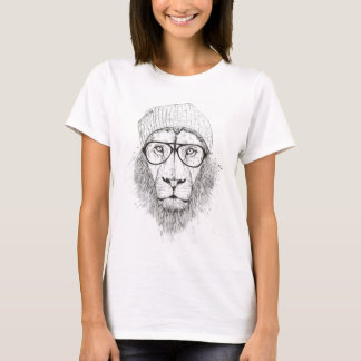 Cool lion (blackandwhite) T-Shirt