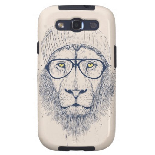 Cool lion galaxy SIII cases