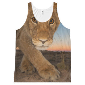 cool Lion designs All-Over-Print Tank Top
