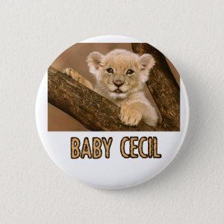 cool Lion designs Button