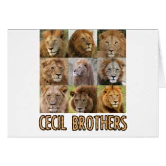cool Lion designs Card