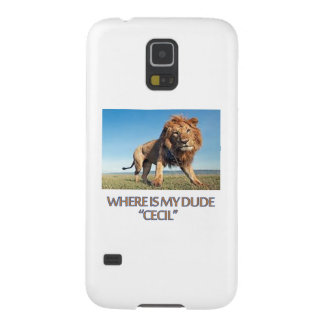 cool Lion designs Case For Galaxy S5