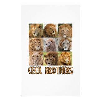 cool Lion designs Stationery