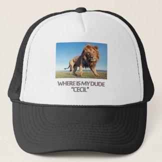 cool Lion designs Trucker Hat
