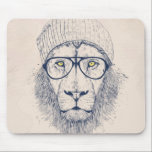 "Cool lion mouse pad<br><div class=""desc"">cooler than cool</div>"