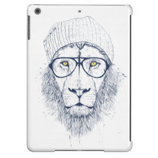 Cool lion (white) cover for iPad air