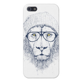 Cool lion (white) cases for iPhone 5