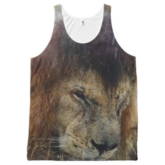 cool Lions designs All-Over-Print Tank Top