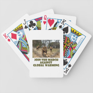 cool Lions designs Bicycle Playing Cards