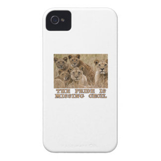cool Lions designs Case-Mate iPhone 4 Case
