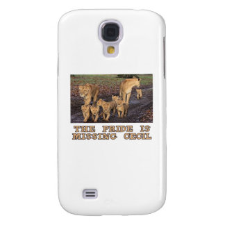 cool Lions designs Galaxy S4 Case
