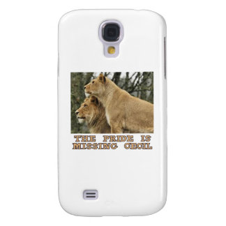 cool Lions designs Galaxy S4 Cover