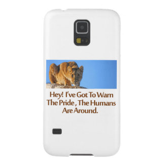 cool Lions designs Galaxy S5 Case